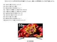 BCN 今売れてる液晶テレビTOP10、ソニーの55型がTOP3入り!!