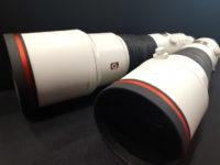 ソニー大口径超望遠SEL400F28GM・SEL600F40GM到着、贅の極み!