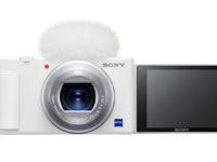 【動画機】デジタルカメラ『VLOGCAM™ ZV-1』新色「ホワイト」発売日決定♪