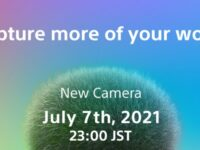 【NewCamera】Capture more of your world2021.07.07 23:00 JST だってさ。